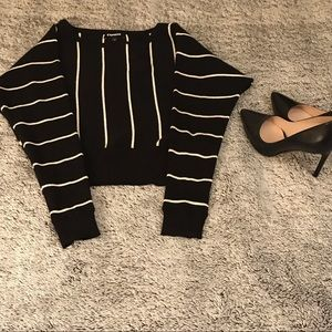 New, never worn express sweater, dolman sleeves